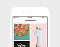 Designspiration app