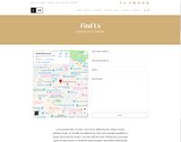 Find Us Page - Ink WordPress Theme