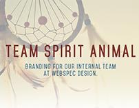 Team Spirit Animal Branding