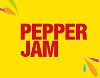 Pepper Jam Logo Animation