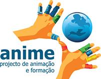 Anime - Projecto de Animação e Formação _ Rebranding