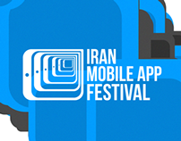 Iran App Festival identity