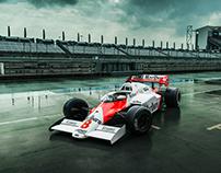 1983/84 Niki Lauda McLaren Formula 1 Cars