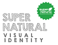 SUPER NATURAL VISUAL IDENTITY