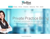 Website for Medfast Billing Inc