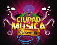 Presidente - Ciudad de la Música (opción 1)