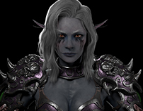The Queen : Sylvanas Windrunner