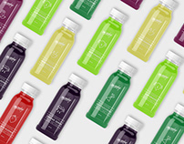 Monday Healthy Juices - Branding and Packaging