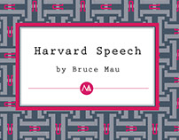 Harvard Graduate School of Design, Class Speech, 2012
