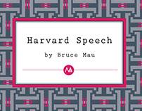 Harvard Graduate School of Design, Class Speech, 2012