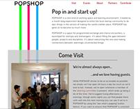 POPSHOP Website