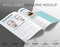 Intelligent Magazine Mockup (FREE version)