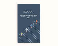 Cartel realizado para el Grupo Bokado