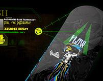 Flow Snowboards: SIA Product Branding Segments