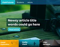 utahfutures.org homepage