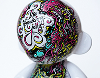 "Vinyl Custom - ""The Amazing Jelly"""
