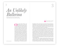 Ballerina, Magazine Article