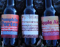 Great Falls Brewery Autumn Harvest Packaging
