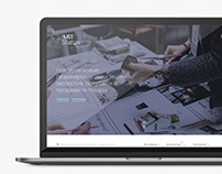 ART Status web design