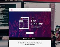 IT WordPress Theme - Tech & Startup Website Builder