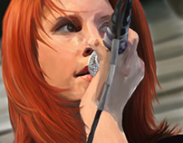 Hayley Williams digital painting