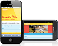 Hawai'i Here mobile web app – Hawai'ian Airlines