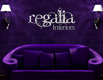 Regalia Interiors - Corporate Identity