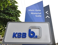 KSB Pumps-India Head Office Wayfinding & Signage Design