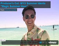 Producer's Cut: MYX Summer Idents