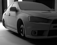 The Mitsubishi Evolution