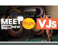 Meet your new MYX VJs: VJ MICHAEL & VJ MICHELLE