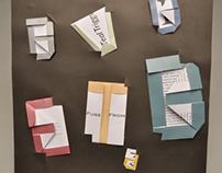 Origami Page Design