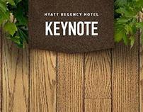 Hyatt Regency Hotel promo page