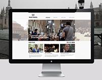 Wash Media website design
