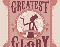 GREATEST GLORY - POSTCARD DESIGN