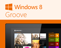 Groove for Windows 8