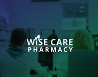 Wisecare Pharmacy Branding