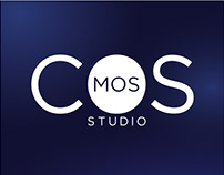 """design of the logo for the beauty studio """"cosmos"""""""