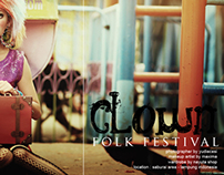 clown in folk fest part 2