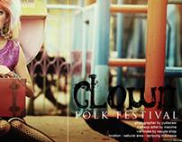 clown in folk fest part 2