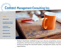 Context Management Consulting Inc.—website