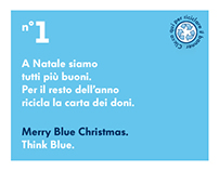 Blue Christmas. Volkswagen Think Blue.