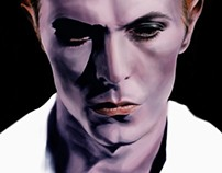 The Thin White Duke - poster