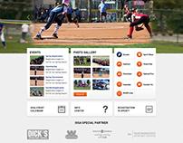 Spring game website