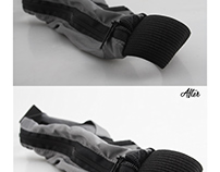 before & after photoshop productfotos's