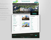 Real Estate Website - Portal System - ZaNovDom.com