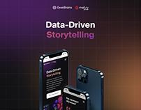 Data-Driven Storytelling – Landing Page