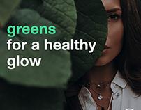 8Greens Brand Refreshing Ideas