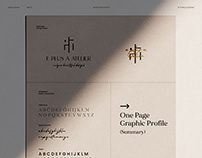 Complete Visual Identity - Architectural Design Firm -