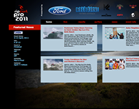 RipCurl Pro 2011 Website Proposal